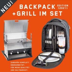 Fennek Grill und Backpack im Test