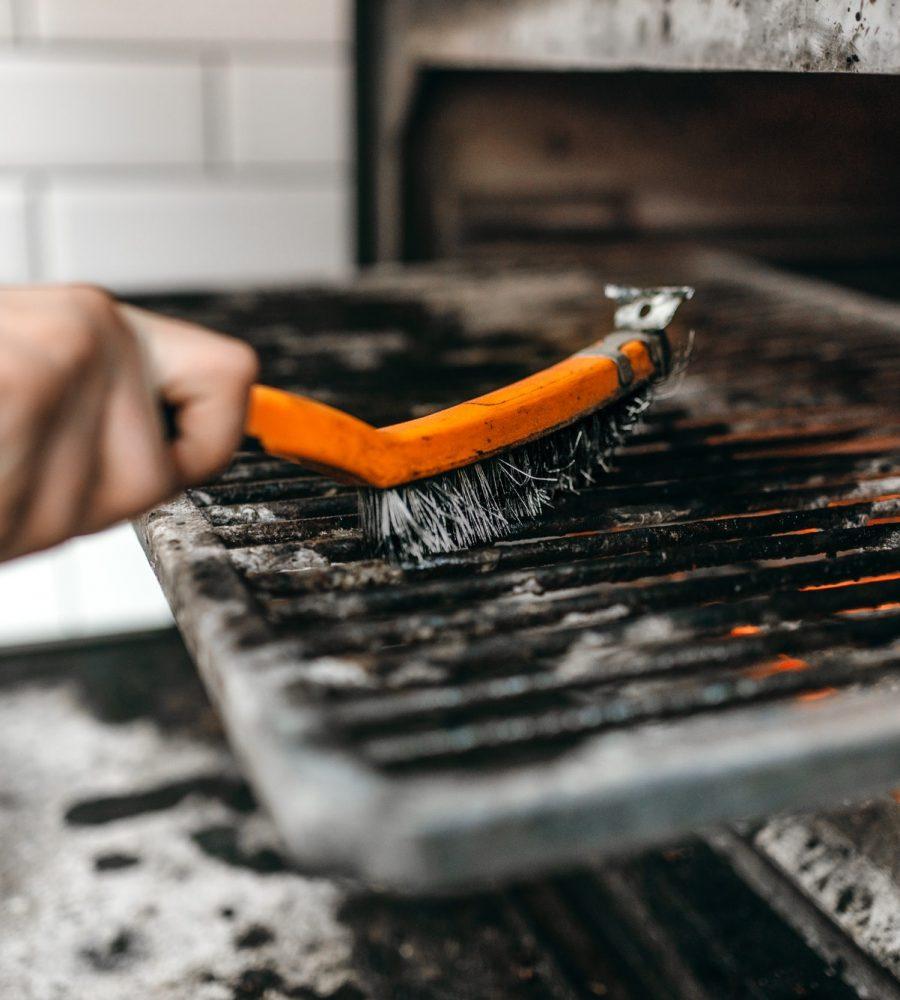 Tragbarer Grill - Tipps zum Reinigen